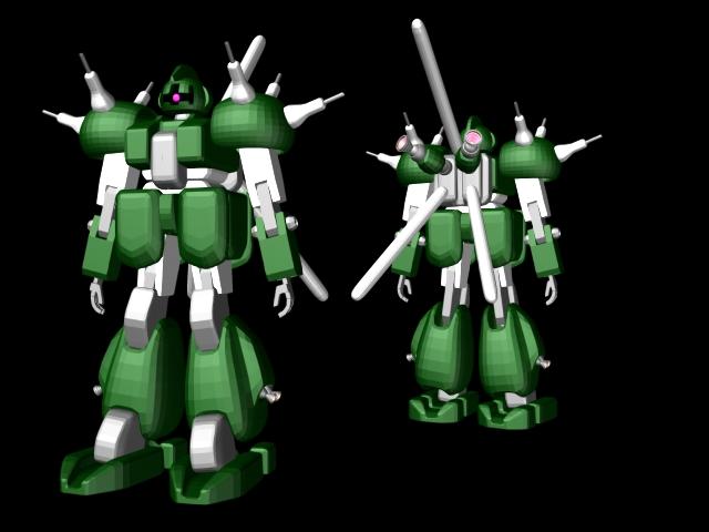 ガンダム系メカ系3DCG-004ニコニコ動画>1本 ->画像>237枚